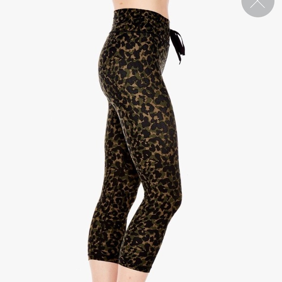 06210955960e3 THE UPSIDE Pants   Leopard Print Camo Leggings   Poshmark